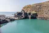 Abereiddy blue lagoon
